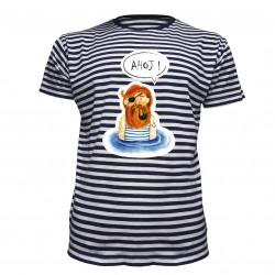 Tričko vodácké s námořníkem