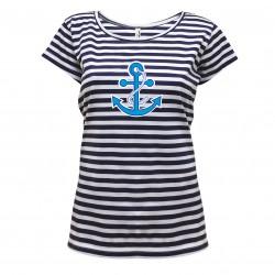 Tričko dámské vodácké s kotvou