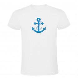 Tričko na vodu bílé s kotvou