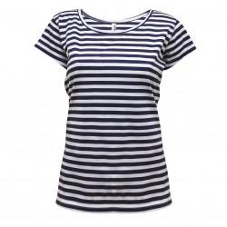 Pruhované tričko dámské