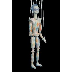 Marioneta harlekýn - světlá
