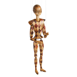 Marioneta harlekýn