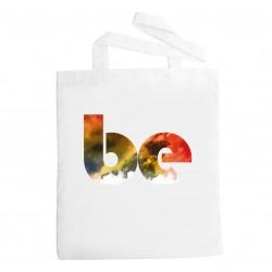 Plátěná taška s potiskem BE