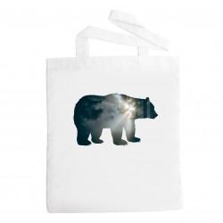 Látková taška medvěd