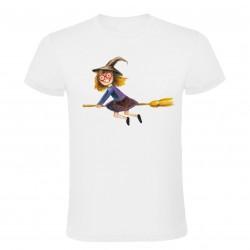 Dětské tričko Ježibaba na...