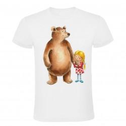 Dětské tričko medvěd s...
