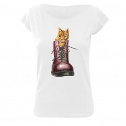 Tričko dámské Kočka