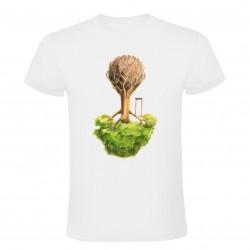 Tričko obrácený strom
