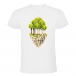 Tričko ostrov stromů