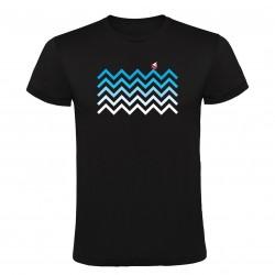 Tričko Na vlnách s loďkou