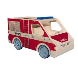 Velké auto hasiči