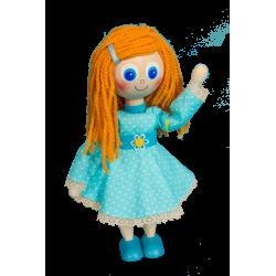 Dřevěná panenka